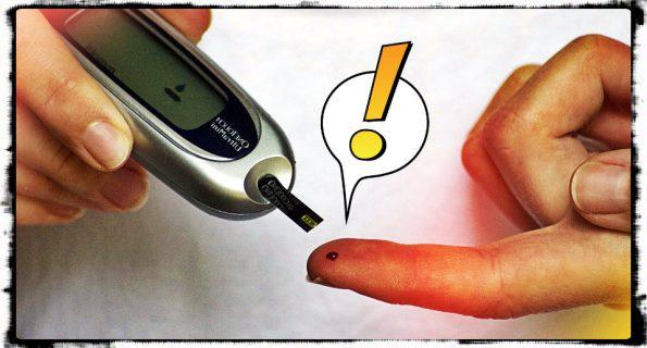 El punzante test de glucosa